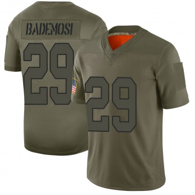 Men's Nike New Orleans Saints Johnson Bademosi 2019 Salute to Service Jersey - Camo Limited