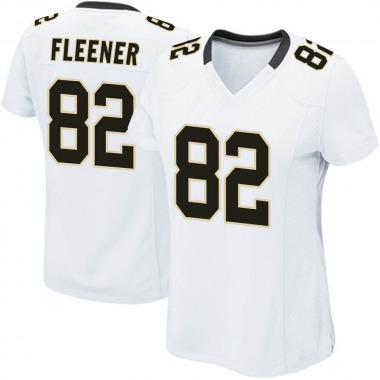 Women's Nike New Orleans Saints Coby Fleener Jersey - White Game