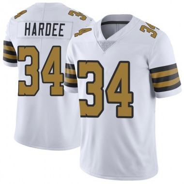 Youth Nike New Orleans Saints Justin Hardee Color Rush Jersey - White Limited